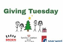 Første december er Giving Tuesday i Næstved