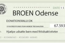 Donation fra Donationsrally