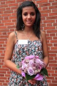 Blomsterpige Sandra Bader