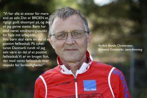 Anders Bondo Christensen foto med citat