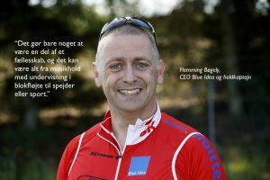 Flemming Bøgely foto med citat