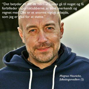 Magnus Heunicke foto med citat