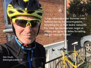 Sten Knuth foto med citat