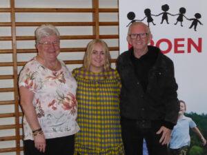 Ulla, Maria og Hans