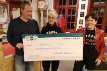 Musikalsk donation til BROEN
