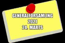 Generalforsamling den 24. marts 2021