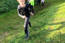 Skolebørn samlede ind til andre børn